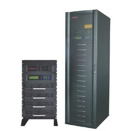 Çin 15KVA RS232 THDI 10 Modular UPS with 3 / 1 system , charge - discharge current value Fabrika